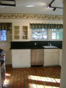 Amityville Horror House - Sink Area Before